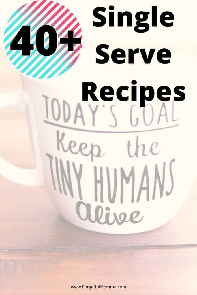 Quick and Easy Single Serve Dessert Recipes Mug