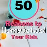 50 Reasons to Homeschool!