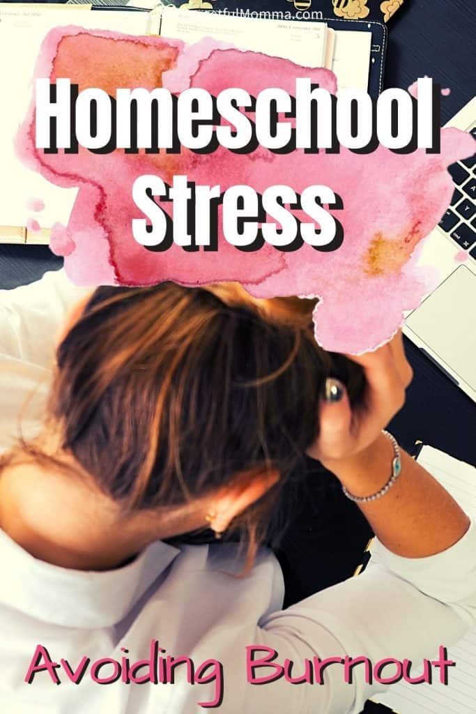 Homeschooling Stress_ avoiding burnout
