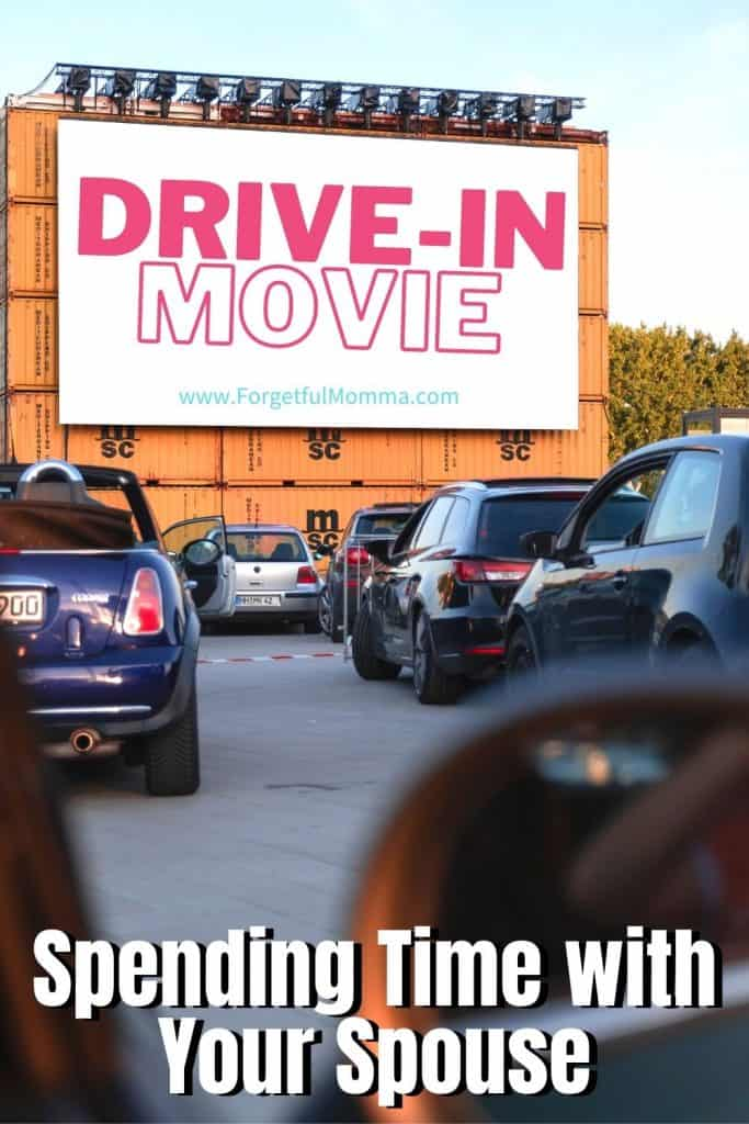 Spending Time with Your Spouse drive in movie