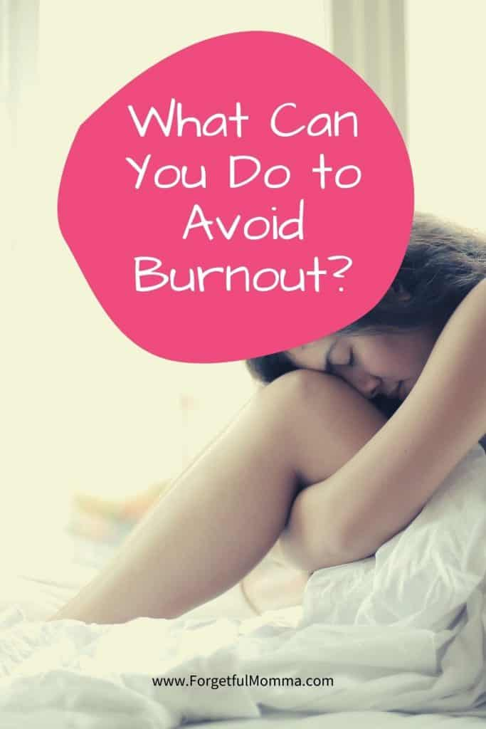 What Can You Do to Avoid Burnout - mom on bed - stress of homeschooling