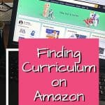 Homeschool Curriculum on Amazon - laptop