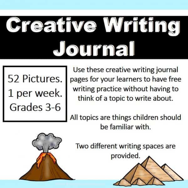 Creative Writing Journal - All Subjects