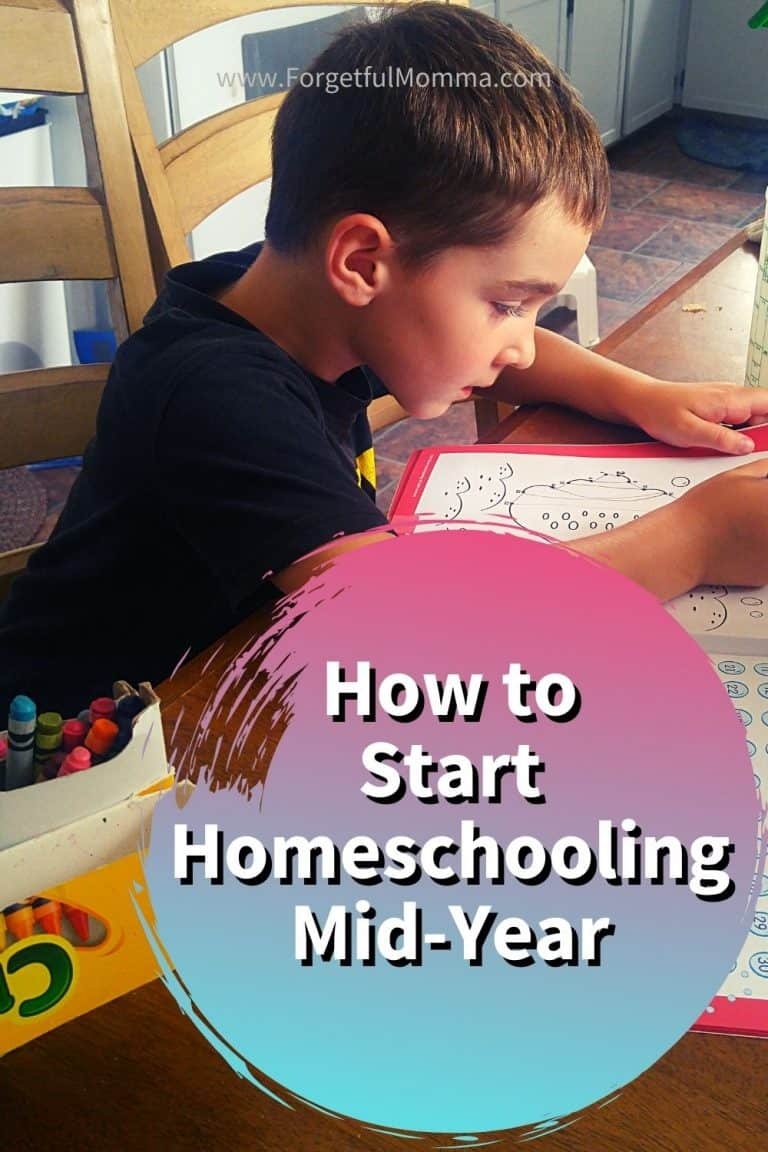 How to Start Homeschooling Mid-Year