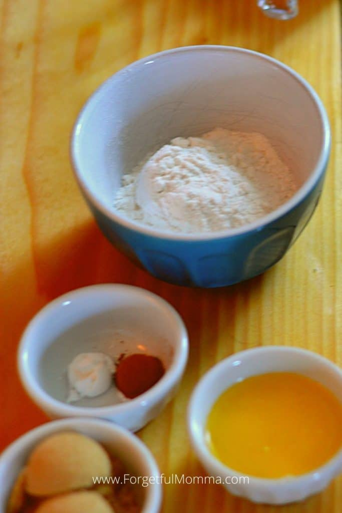 Snickerdoodle Mug Cake single serving desserts - Ingredients