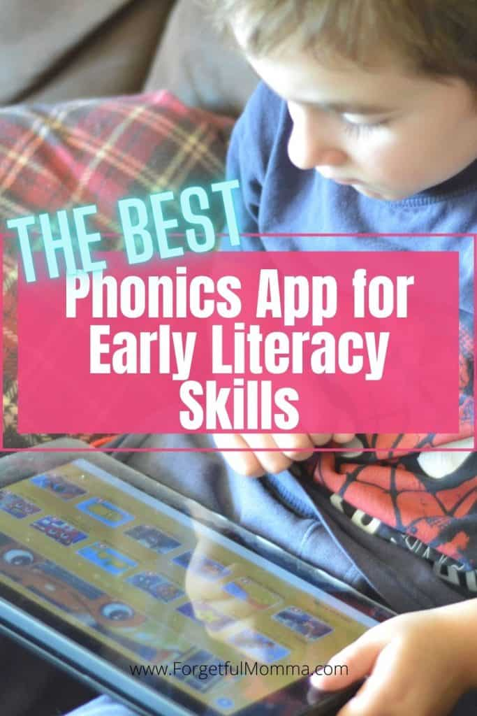 The Best Phonics App for Early Literacy Skills