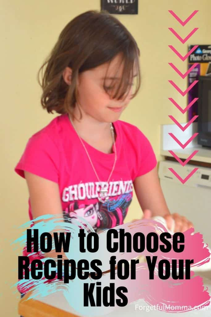 How to Choose Recipes for Your Kids