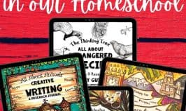 Thinking Tree Books in our homeschool