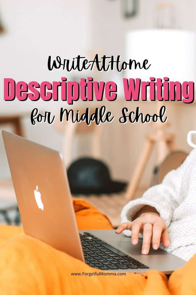 WriteAtHome Descriptive Writing for Middle School