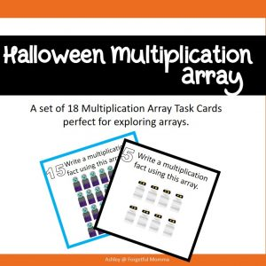 multiplication - Array - halloween