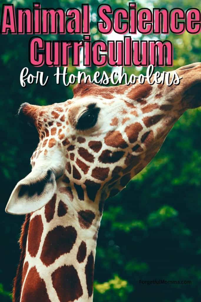 Animal Science Curriculum for Homeschoolers