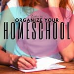 Lists to Organize Your Homeschool