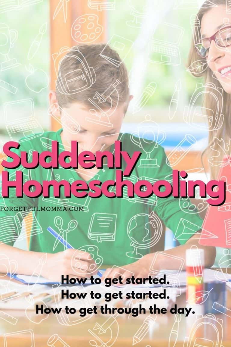 Suddenly Homeschooling