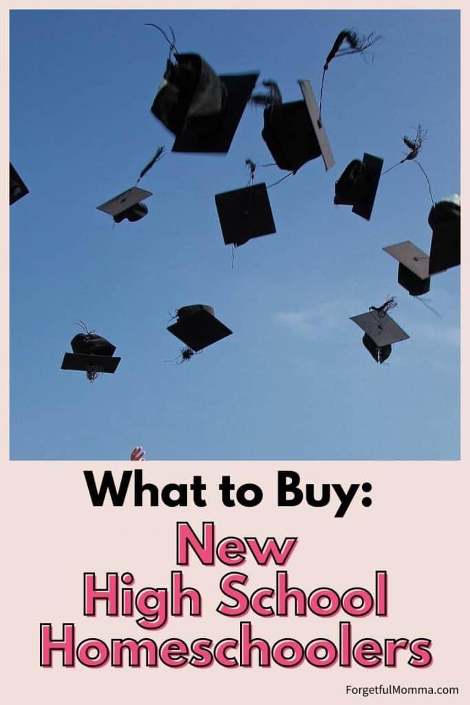 What to Buy New Homeschoolers