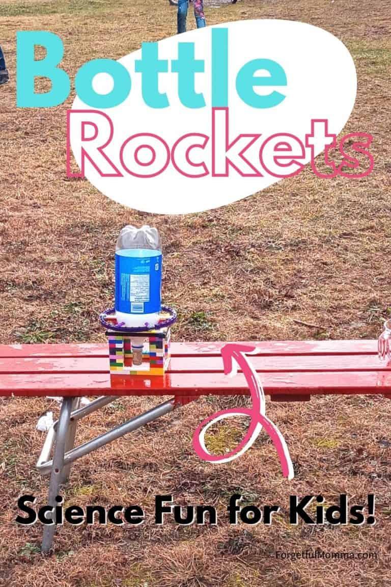 Bottle Rockets! Outside Fun