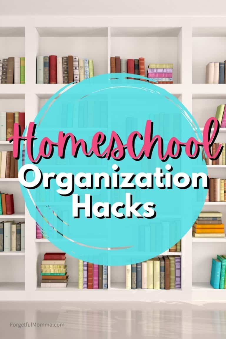 Homeschool Organization Hacks