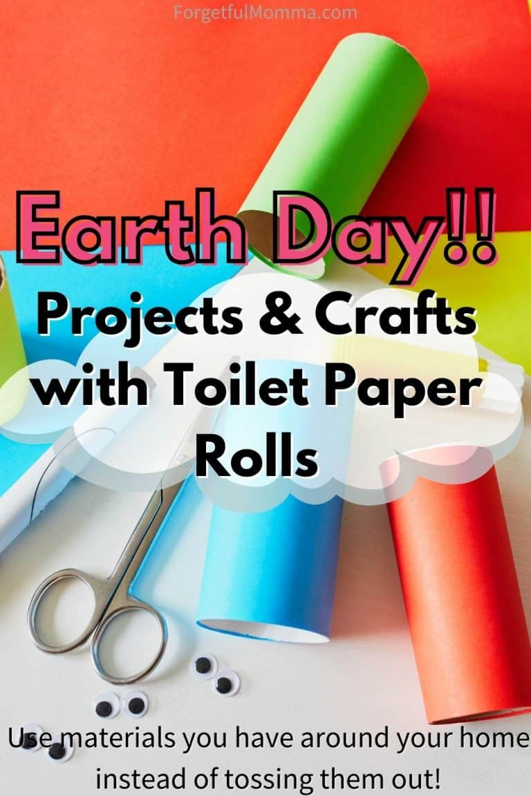 Earth Day Projects with Toilet Paper Rolls