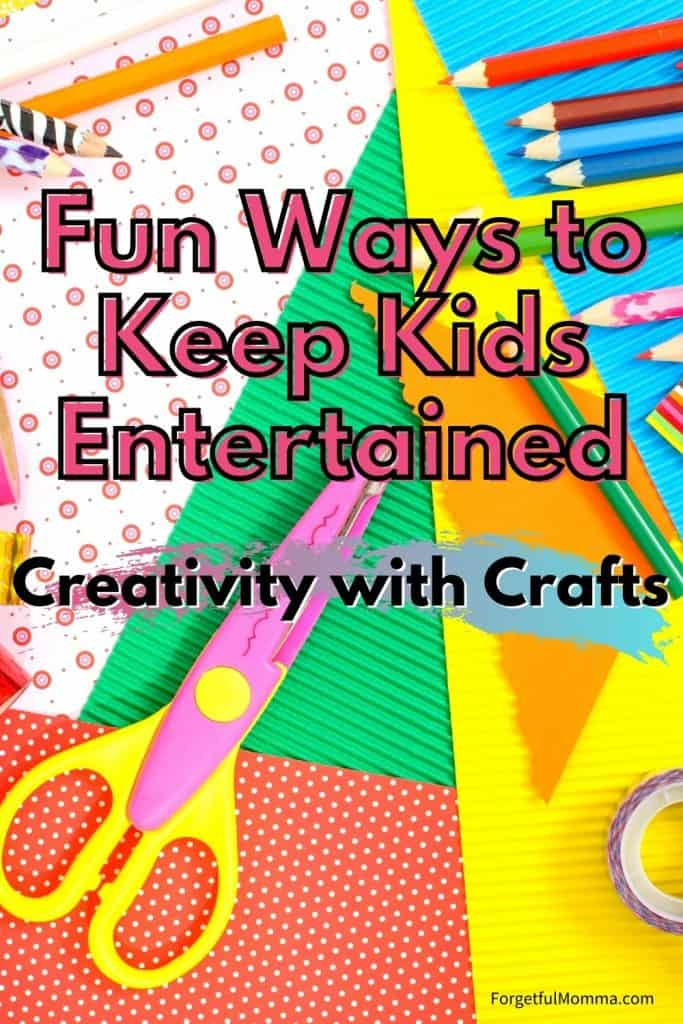 Fun Ways to Keep Kids Entertained Creativity with Crafts