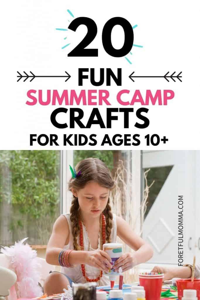20+ Fun Summer Camp Crafts
