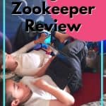 Night Zookeeper Review - two kids on tablets using night zookeeper