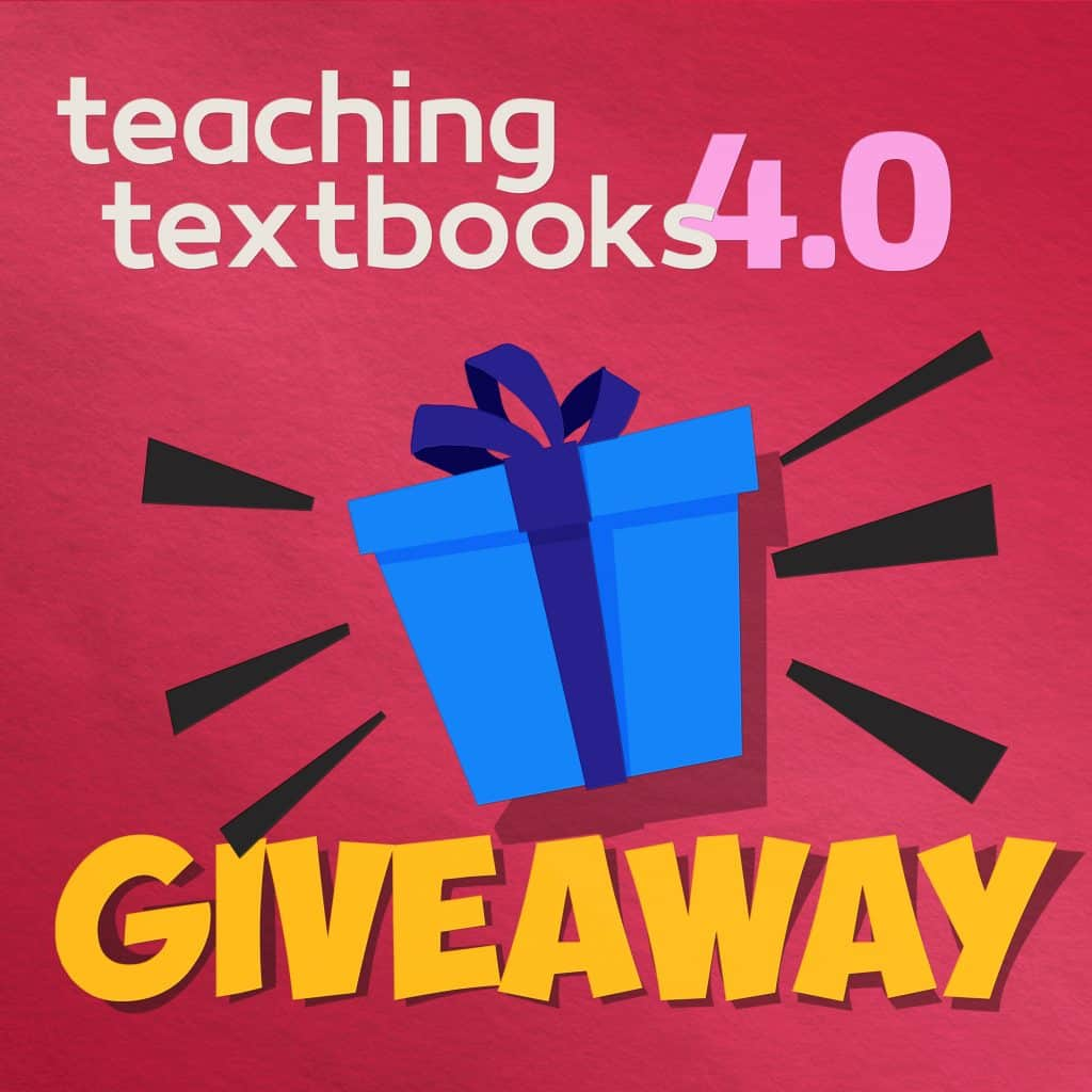 Teaching Textbooks 4.0 Giveaway Graphic