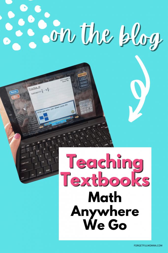 eaching Textbooks Math Anywhere we go