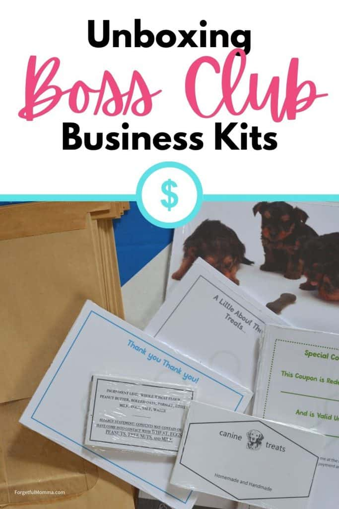 UnBoxing Boss Club Business Kits