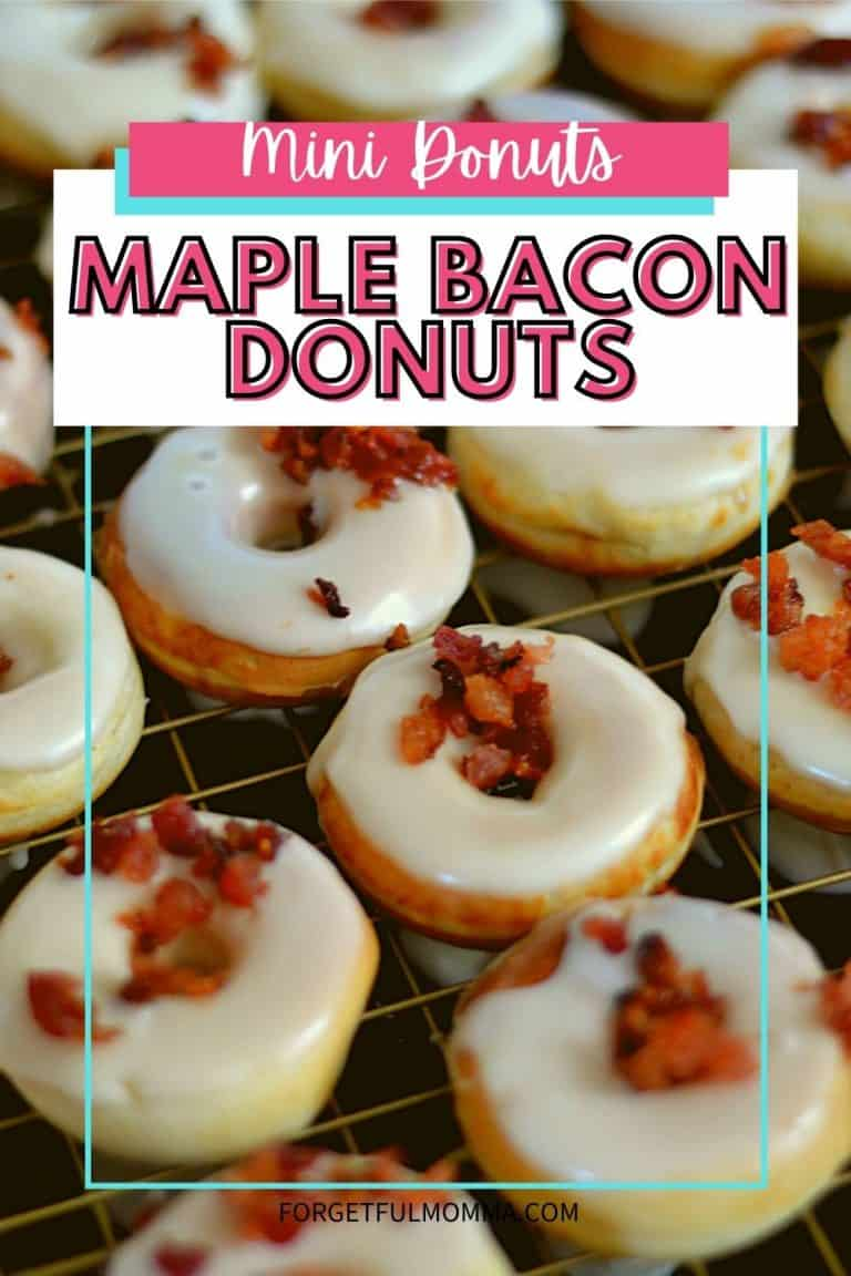 Maple Bacon Donuts – Mini Donut Recipe