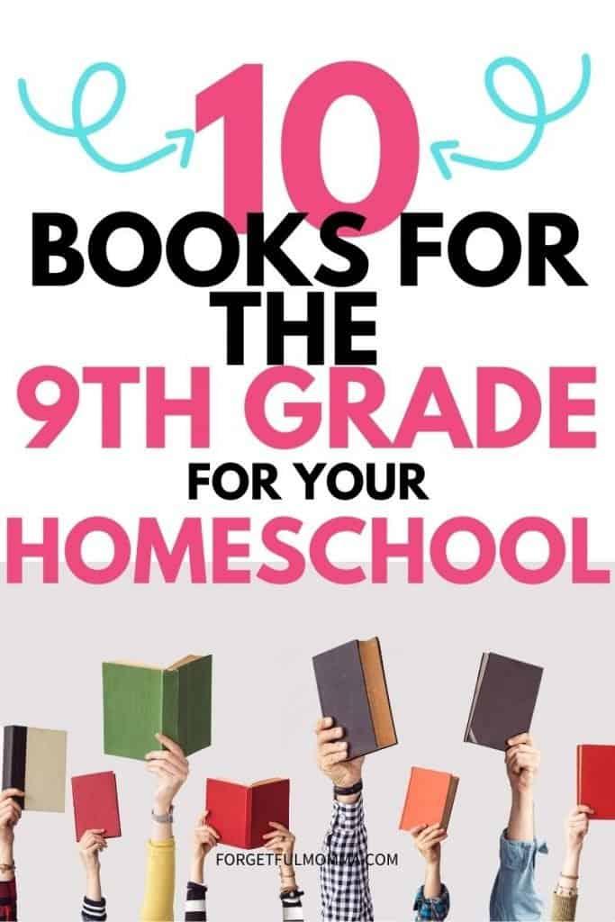 9th Grade Reading List for Homeschool