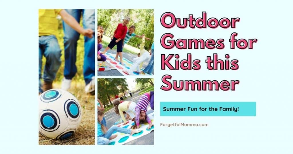 Outdoor Games for Kids this Summer